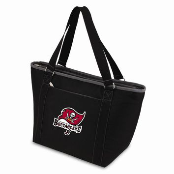 Tampa Bay Buccaneers Insulated Black Cooler Tote