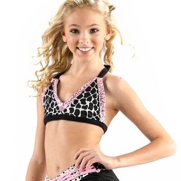 California Kisses SNOW LEOPARD SEQUIN CAMI TOP - Whats New