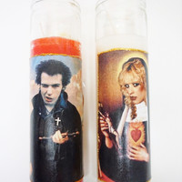 Sid and Nancy Candle Set