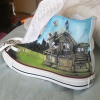 Custom Design Chucks Shoes or Other Items by by SolefulDesigns