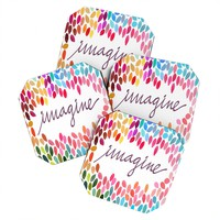 Garima Dhawan Imagine 1 Coaster Set