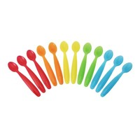 The First Years Take and Toss Toddler Spoons 12 Pack, Colors May Vary - Walmart.com