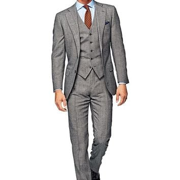 Suit Light Grey Plain Lazio P3991i | Suitsupply Online Store