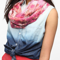 Urban Outfitters - Fading Floral Eternity Scarf