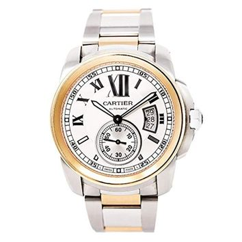 Cartier Calibre de Cartier Automatic-self-Wind Male Watch W7100036 (Certified Pre-Owned)