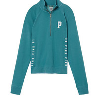 University Quarter-Zip - PINK - Victoria's Secret