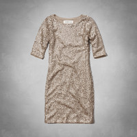 Rylie Sparkling Bodycon Dress
