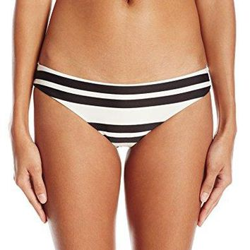 RVCA Womens Stripe Out Cheeky Bikini Bottom