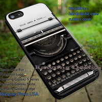 Once Upon A Time Typewriter iPhone 6s 6 6s+ 5c 5s Cases Samsung Galaxy s5 s6 Edge+ NOTE 5 4 3 #movie #disney #animated #onceuponatime dt