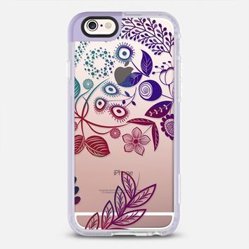 Ombre flora iPhone 6s case by Famenxt | Casetify