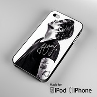 Harry Styles black and white iPhone 4S 5S 5C 6 6Plus, iPod 4 5, LG G2 G3, Sony Z2 Case