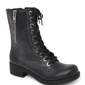 Black Poppy Felicity Boots - Womens Boots - Black