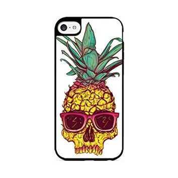 Pineapple Skull - Hipster Pineapple - iPhone 6 Black Case (C) Andre Gift Shop