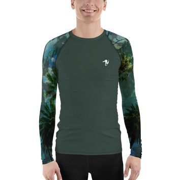 Men's Find Your Coast O.U.R. Outdoors Performance Rash Guard UPF 40