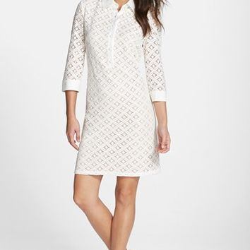 Women's Eliza J Lace Shirtdress