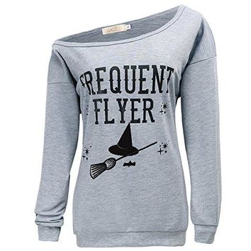 Frequent Flyer Halloween Sweatshirt