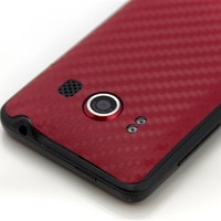 HTC Evo 4G Red Carbon Skins, Covers and Cases from SlickWraps