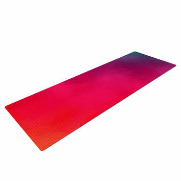 "Fotios Pavlopoulos ""Rainbow Loon"" Rainbow Abstract Yoga Mat"