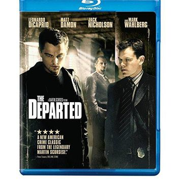 The Departed (Blu-ray) Leonardo DiCaprio, Matt Damon, Jack Nicholson, Mark Wahlberg