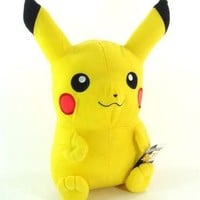 "2011 Pokemon Deluxe 18"" Pikachu Plush Character Toy / Officially Licensed By Nintendo"