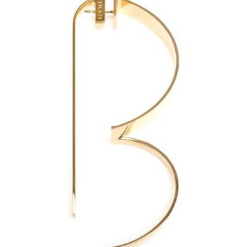 LOEWE | Gold Plated Single Wave Earring | Browns fashion & designer clothes & clothing