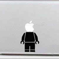 Apple robot  Mac Book Mac Book Air Mac Book Pro Mac Sticker Mac Decal Apple Decal Mac Decals
