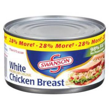 Swanson® Premium White Chunk Chicken Breast in Water 12.5oz