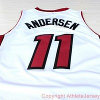 Chris Andersen 11 Miami Heat NBA Basketball Jersey Chris Andersen Miami Heat