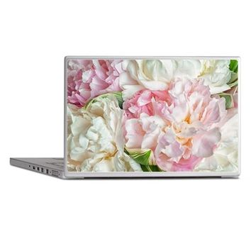 BLOOMING PEONIES LAPTOP SKINS