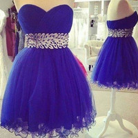 Elegant Woman Sweetheart Party Dress Short Prom Bodycon Dress