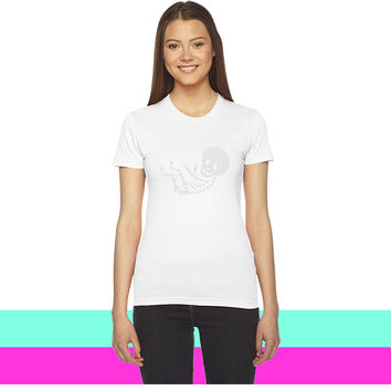 Maternity Skeleton Unisex_ women T-shirt