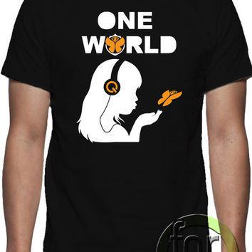 ONE WORLD, T-shirt  design,  unique design, all sizes. great gift