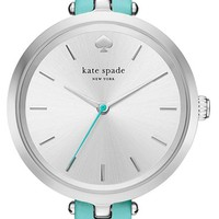 kate spade new york 'holland' round watch, 34mm | Nordstrom