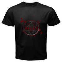 him heartagram red black Tshirt Size S M L XL 2XL 3XL 4XL. and 5XL