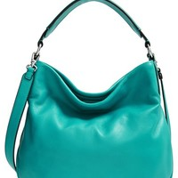 Women's MARC BY MARC JACOBS 'New Q Hillier' Hobo - Blue/green