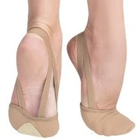 Body Wrappers Adult Twyla Total Stretch Canvas Slipper | DanceWear Corner