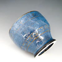 Small French Coffee Bowl in Denim Blue - Latte Cup