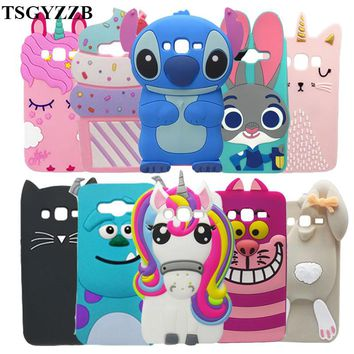 For Samsung J2 Prime Case Cover 3D Cute Cartoon Soft Silicone Phone Cases For Samsung Galaxy J2 Prime Funda G532F G532 SM-G532F