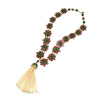 Massive and Important Moghul Style Necklace by Maison Gripoix For Chanel