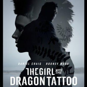 Girl With The Dragon Tattoo Movie Poster Standup 4inx6in