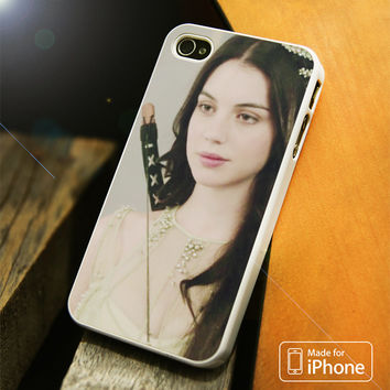 Reign White iPhone 4 5 5C SE 6 Plus Case