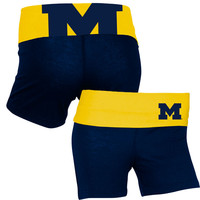 The M Den - College Concepts University of Michigan Ladies Navy Sublime