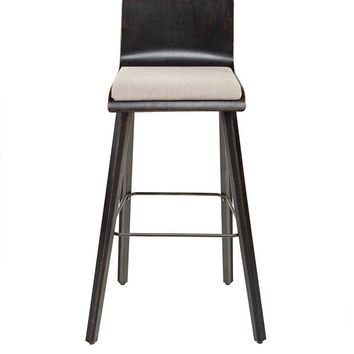 South Shore Counter Stool, Frame, Fabric