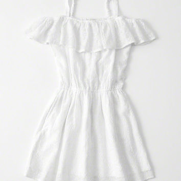 girls cold-shoulder dress | girls dresses & rompers | Abercrombie.com