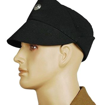 Star wars Imperial Officer Cosplay Costume Men's Cap Hat Black Olive Color Gift