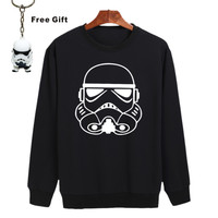 Soldier in Star Wars Black New Hoodies