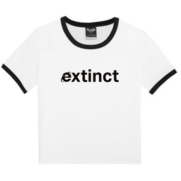 extinct RINGER TEE WOMENS t shirt top tank ladies funny tumblr hipster fashion grunge retro kawaii goth cute vintage internet wifi harajuku