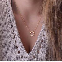 Hot Fashion Simple Ring Gold Plated Fatima Bar Necklace Long Strip Pendant Necklaces Women 2015 Jewelry XJ-08