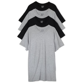 Fruit of the Loom Mens 4PK Heathered T-Shirt