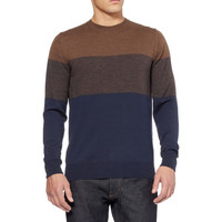 PS by Paul Smith Striped Merino Wool Sweater | MR PORTER